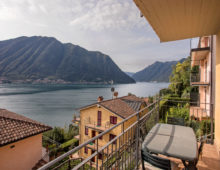 Lovely 2 bedroom apartment in residence with pool & stunning sea views, Sala Comacina, Como Lake