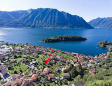 New development: 8 apartments of 2 bedrooms and 1 bathroom, Ossuccio, Como Lake