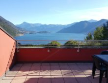 Two rooms with a large terrace and great lake views!